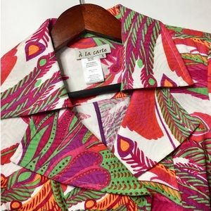 a' la carte Tropical Vibrant Lightweight Coat